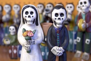 Muertos Wedding Couple
