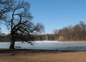 Lake and Monopteros