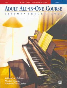 Adult All-in-one Course: Alfred's Basic Adult Piano Course, Book 2
