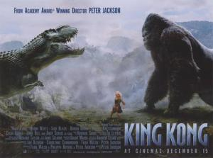 Kong, T-rex, and Naomi Watts