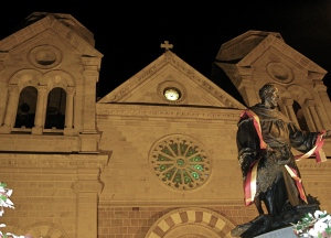 St. Francis Cathedral -- Night