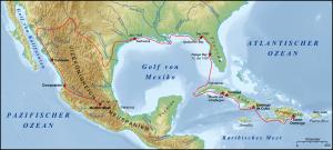 De Vaca's Route