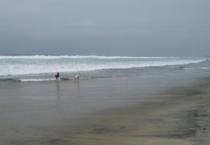 BFFs in the surf
