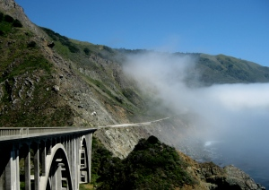 Fog Rolls in on Big Sur