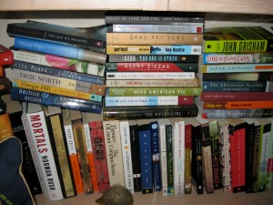 Alcove of Crowded Books