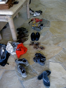 The place where the shoes gathered