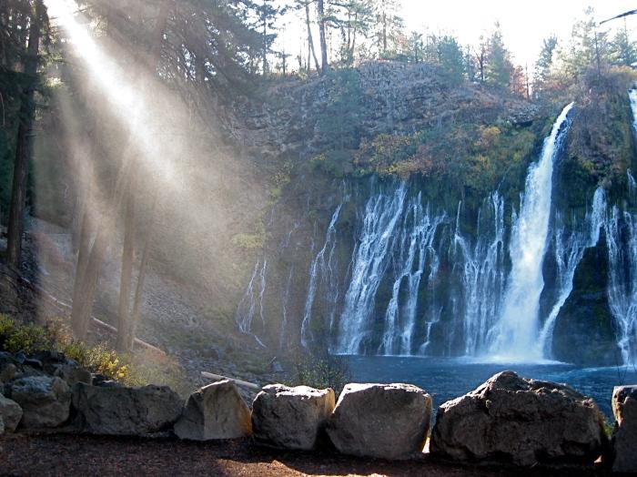 Sunlight and Falls