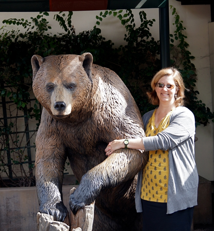 California Golden Bear and Golden Girl