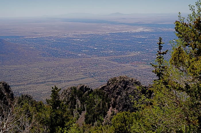 Albuquerque from the Sandia Crest